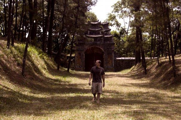 Me at Thieu Tri Tomb