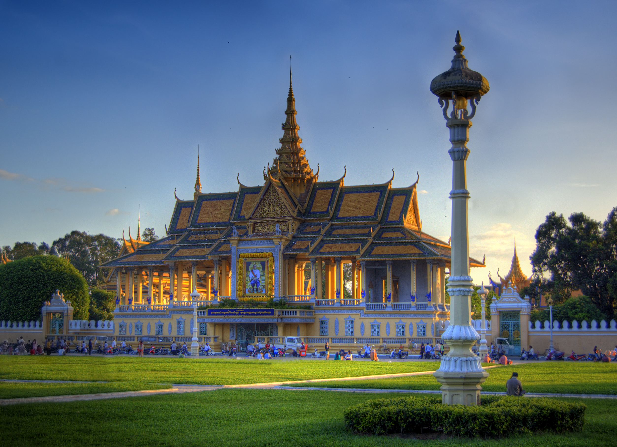 Royal Palace on the Riverfront, Phnom Penh, Cambodia