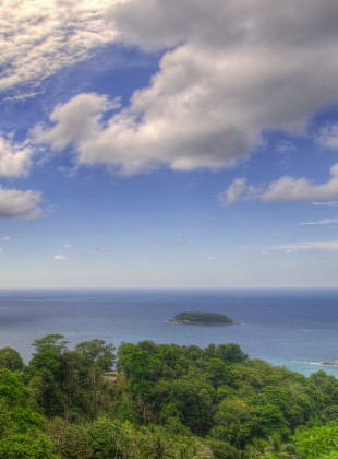 panorama from phuket lookout